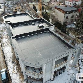 Dach PŁASKI w Jaworznie 01.2021