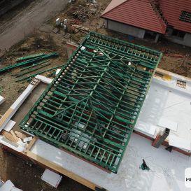 II Dach PŁASKI w Mikołowie 05.2021