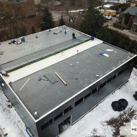 Dach PŁASKI w Rudzie Śląskiej 02.2021