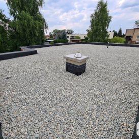 III Dach PŁASKI w Mikołowie 07.2021